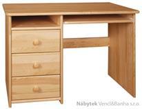 dřevěný psací stůl PC stolek z masivního dřeva drewfilip 4