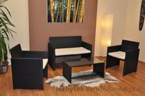 ratanový zahradní nábytek, sedací souprava AXIN 1 umělý ratan axi