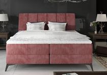 čalouněná dvoulůžková manželská postel Aderito eltapmeb