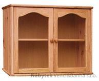 dřevěná kuchyňská skříňka závěsná horní z masivního dřeva borovice drewfilip 11