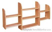 dřevěná závěsná polička z masivního dřeva borovice drewfilip 15