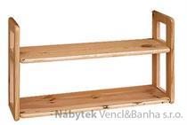 dřevěná závěsná polička z masivního dřeva borovice drewfilip 8