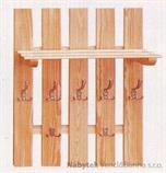 dřevěný závěsný věšák z masivního dřeva drewfilip 14