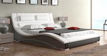 dvoulůžková čalouněná manželská postel Lapas 180 chojm