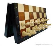 dřevěné šachy tradiční magnetické velké 140B mad