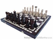 dřevěné šachy tradiční  Stromečkové 114 mad