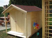 """dřevěná zahradní dekorace """"Dětský domek"""" N5 botodre"""