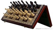 dřevěné šachy tradiční magnetické 140A mad