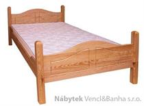 dřevěná dvojlůžková postel z masivního dřeva drewfilip 8 Sandra
