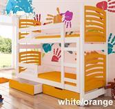 dětská dřevěná patrová postel z masivního dřeva Osuna adrk