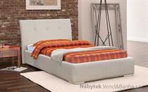 čalouněná jednolůžková postel s úložným prostorem Fibi kubera