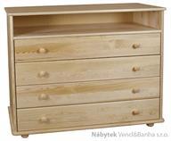 dřevěná komoda, prádelník z masivního dřeva borovice drewfilip 20