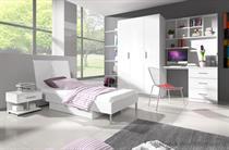 sestava nábytku moderní dětský pokoj z dřevotřísky Raj 3 karol