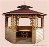 dřevěné prvky na dřevěný zahradní altán zahradní dekorace drewfilip 7