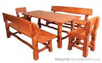 stylový dřevěný zahradní nábytek MO212 pacyg