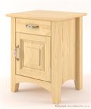 dřevěný noční stolek z masivního dřeva borovice Castello CAS-S-40 drewm