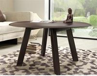 moderní jídelní dřevěný dubový kulatý stůl S43 chojm