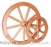 dřevěná závěsná dekorace námořnické kormidelní kolo B malé z masivního dřeva drewfilip 26