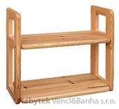 dřevěná závěsná polička z masivního dřeva borovice drewfilip 11