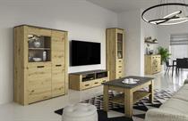 sektorový nábytek, obývací pokoj z dřevotřísky XL gala