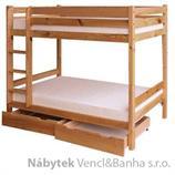 patrová postel, palanda z masivniho dřeva borovice drewfilip 13