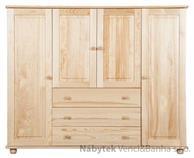 Dřevěná komoda 52 Jandr