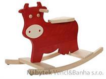 dětská dřevěná houpačka telátko KM00 gepetto skladem
