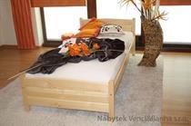 dřevěná jednolůžková postel z masivního dřeva Joanna maxidre