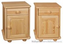 dřevěný noční stolek z masivního dřeva borovice 24 drewfilip