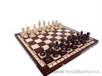 dřevěné šachy turnajové TOURNAMENT6 96 mad