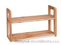 dřevěná závěsná polička z masivního dřeva borovice drewfilip 9