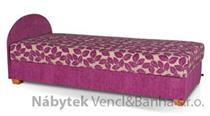 čalouněná jednolůžková postel s úložným prostorem Vigo Plus kubera