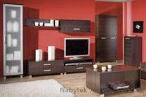 obývací pokoj, sektorový nábytek z dřevotřísky Maximus 4 maride