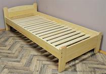 dřevěná jednolůžková postel z masivního dřeva Marsylia chalup