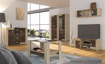 moderní obývací stěna, obývací pokoj z MDF Eurico 02 adrk