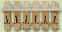 dřevěný věšák z masivu  drewm d30359