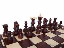 dřevěné šachy tradiční AMBASADOR LUX  128 mad