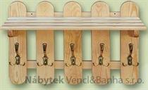 dřevěný věšák z masivu  drewm d30360