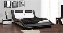 dvoulůžková čalouněná manželská postel Domino 200 chojm