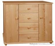 dřevěná komoda, prádelník z masivního dřeva borovice drewfilip 26