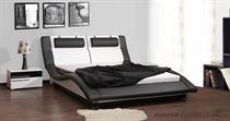 dvoulůžková čalouněná manželská postel Domino 140 chojm