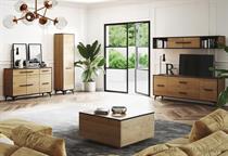 sektorový nábytek, obývací pokoj, jídelna z dřevotřísky Frida gala