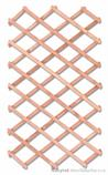dřevěná zahradní dekorace ozdobná mřížka MO221 pacyg