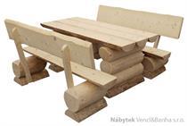 stylový dřevěný zahradní nábytek K012 jandr