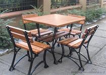 dřevěný zahradní nábytek Faktor 100 x 100 fiema