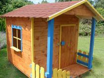 """dřevěná zahradní dekorace """"Dětský domek"""" N2 botodre"""