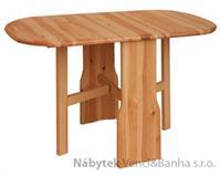 dřevěný jídelní stůl rozkládací z masivního dřeva borovice drewfilip 17