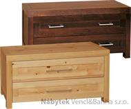 moderní dřevěná komoda, prádelník z masivního dřeva borovice DEL SOL drewfilip 16