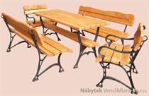 dřevěný zahradní nábytek Kowal Krolewski 1+2+2 drewfilip 213