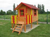 """dřevěná zahradní dekorace """"Dětský domek"""" N12 botodre"""